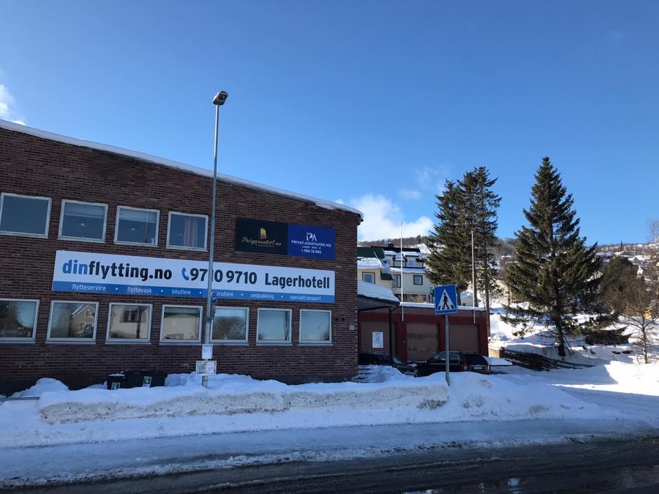 Lagerhotell på Seljestad